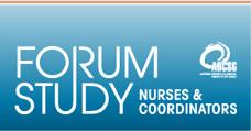 Forum Study Nurses & Coordinators