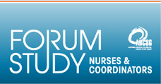 Forum Study Nurses & Coordinators