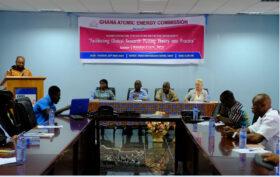 beim Workshop zu klinischer Forschung in Ghana